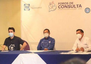 Realizan foro de consulta ciudadana del PAN en Madero