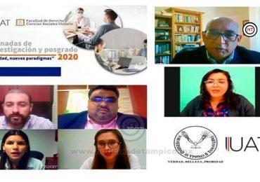 Expone la Facultad de Derecho-Victoria avances de investigación y posgrado