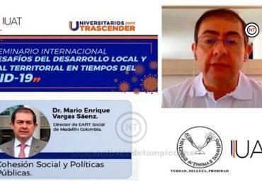 Imparte UAT temas de Cohesión Social y Políticas Públicas