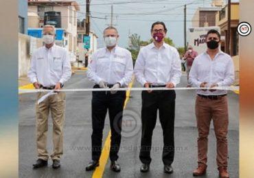 Gobierno Municipal cumple a los maderenses con la entrega de más calles dignas