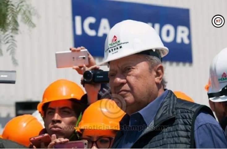 Petroleros denunciaran a Romero Deschamps por huachicolero.