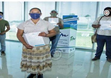 Entrega Gobierno de Tamaulipas últimas actas de bienes a beneficiarios de Fomento al Autoempleo.
