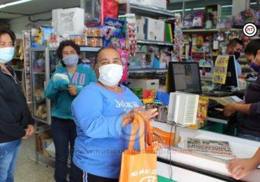 Entrega INMUJER bolsas ecológicas a comercios