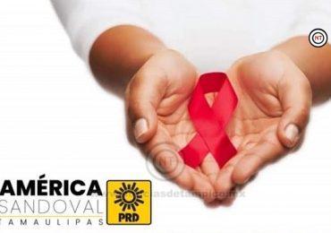 ES IMPORTANTE HACER CONCIENCIA SOBRE EL SIDA: AMÉRICA SANDOVAL