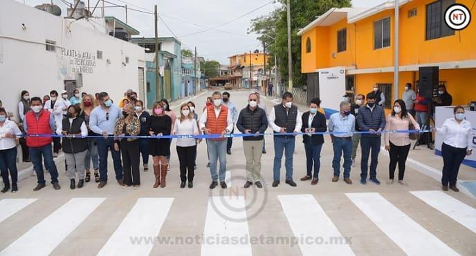 Inaugura Chucho Nader Nueva Obra de Pavimentación en la Morelos