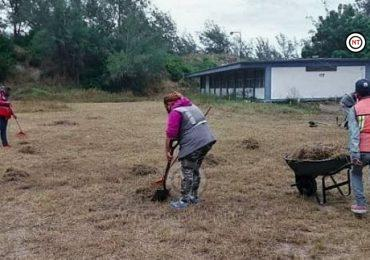 Gobierno de Madero lleva jornada de limpieza a planteles educativos