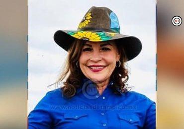 Se registra Gaby  Verlage  para buscar ser candidata del PAN a la alcaldía González