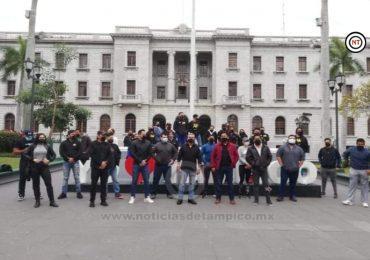 Protestan dueños de gimnasios ante cierre por decreto de Salud