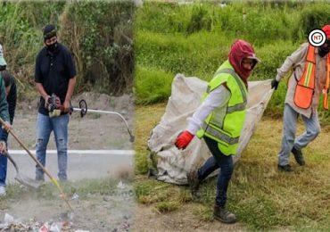 Intensas acciones de limpieza son realizadas en Ciudad Madero