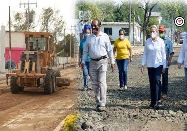 Gobierno de Altamira pavimenta importantes vialidades en la zona rural