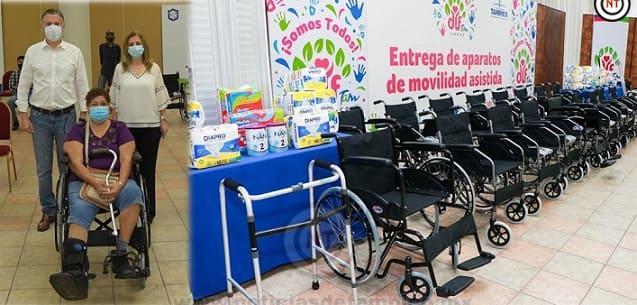 Encabezan Chucho Nader y Aída Féres Nueva Entrega de Aparatos Funcionales