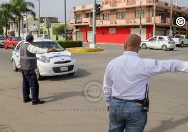 Continúan las capacitaciones para elementos de Tránsito en Ciudad Madero