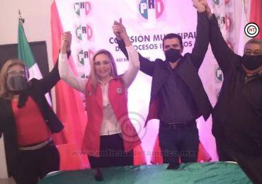 Presenta PRI a Isnelia Treviño como precandidata a diputada local por el Distrito 8