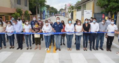 Inaugura Chucho Nader Dos Nueva Vialidades en la Zona Norte