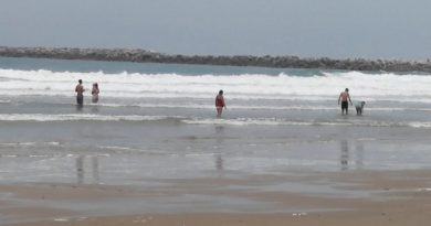 Refuerzan filtros sanitarios en Playa Tesoro Altamira