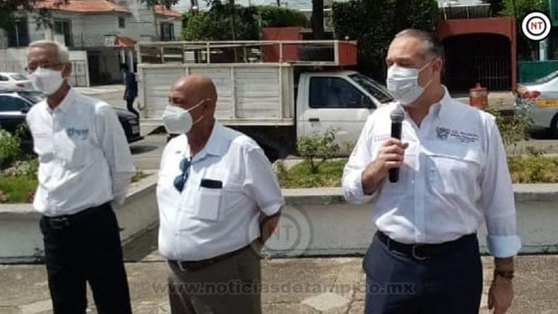 Asegura alcalde de Madero no distraerse para buscar otros cargos.