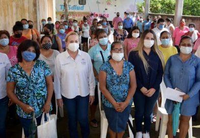 Respalda Alma Laura Amparán salud de mujeres altamirenses