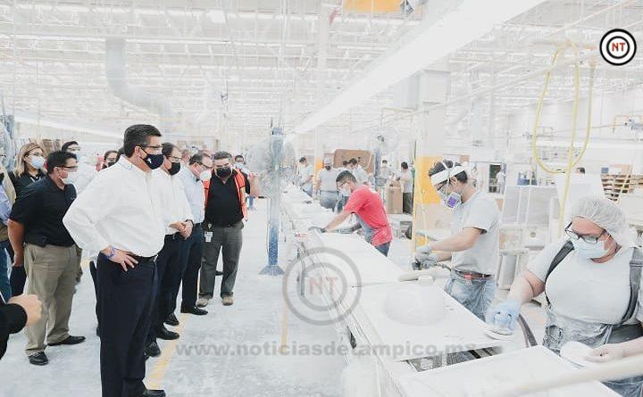 Tamaulipas registra nuevo repunte en empleo formal.